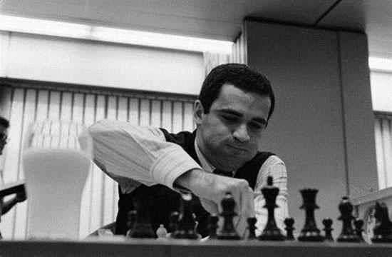 Kasparov en Tilburg