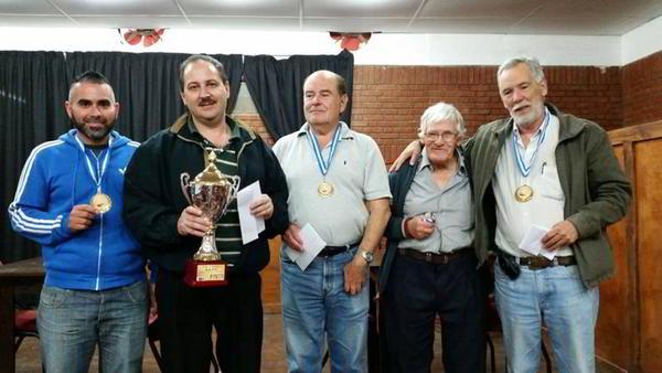 Premiación Torneo Provincial AACC