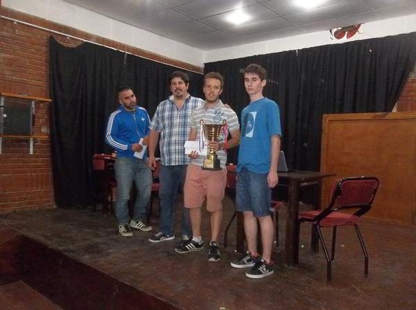 Premiación IRT Sub 2200