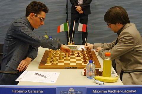 Caruana vs Maxima Vachier Lagrave