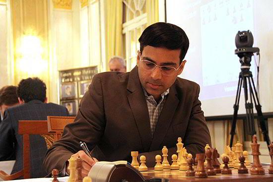 Vishy Anand en Zurich