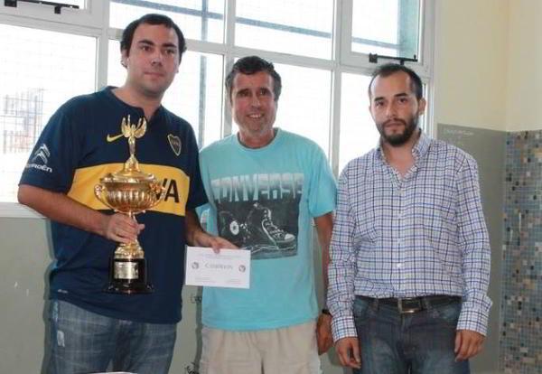 Kevin Paveto, ganador del Abierto Playa Unión 2015