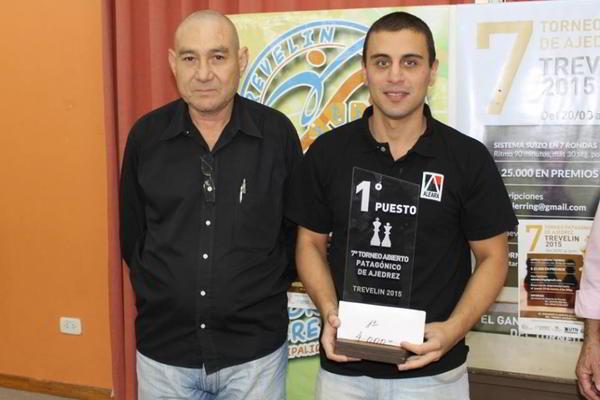 MI Lucas Liascovich, ganador del torneo