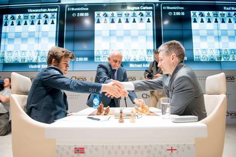 Adams vs Carlsen