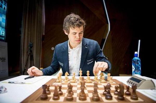 El campeón del mundo, Magnus Carlsen