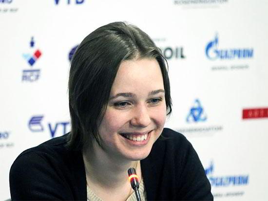 Mariya Muzychuk, campeona del mundo