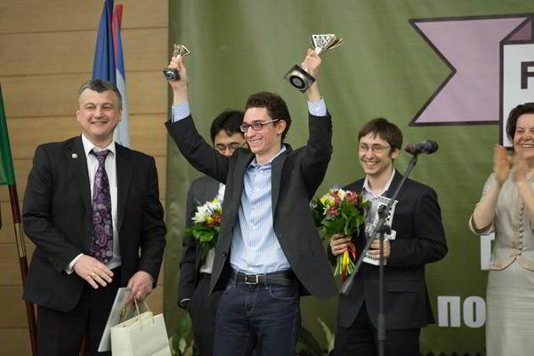 Fabiano Caruana, clasificó al Torneo de Candidatos