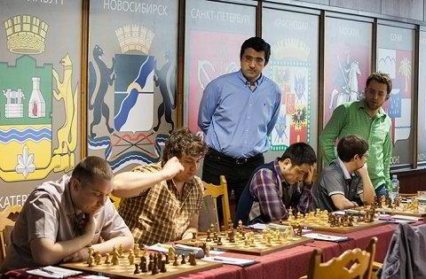 El equipo de Sibera, encabezado por Kramnik y Aronian