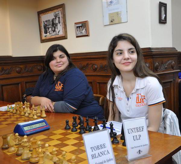 María Plazaola y Florencia Fernandez, de UNTREF ULP