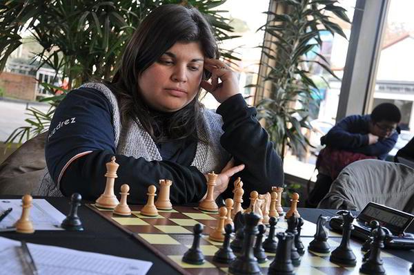 María Plazaola representante de Untref-ULP, sumó 4,5 puntos en 5 partidas