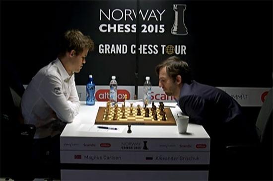 Carlsen vs Grischuk