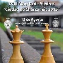 XVIII Abierto Ciudad de Chascomús 2015