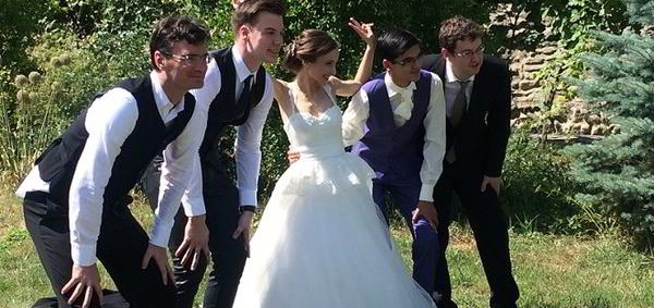 Vivan los novios! La boda de Giri y Sopiko