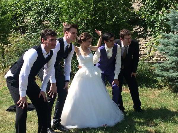 Festejos de la boda del año: Anish Giri y Sopiki Guramashvili