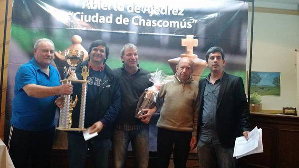 Daniel Contín, ganador del Abierto Ciudad de Chascomús 2015