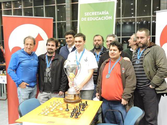 Alan Pichot ganador de la etapa Semifinal del Campeonato Argentino 2015
