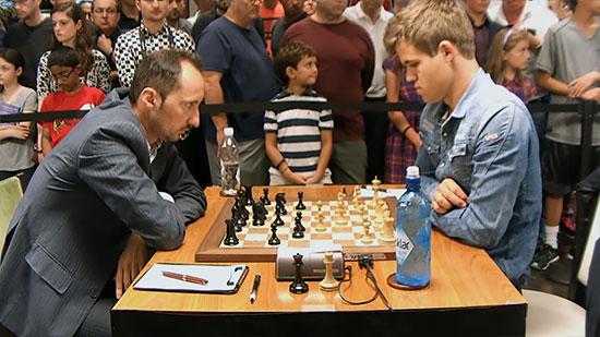 Carlsen se encontró con un inspirado y bien preparado Topalov