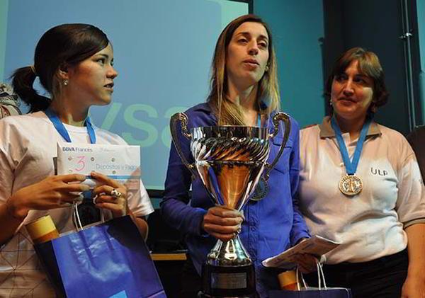 Martinez, Luján, Amura, el podio del Campeonato Argentino Femenino 2015