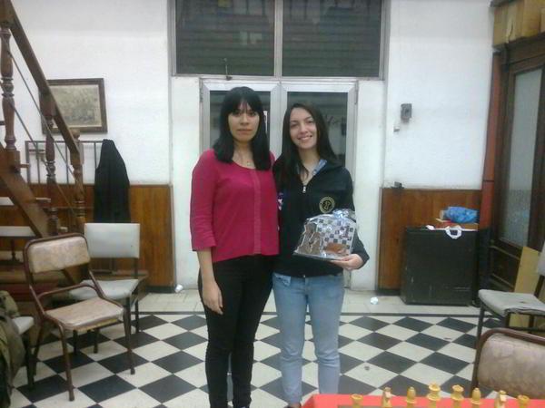 Anahi Meza junto a Betania Lozano