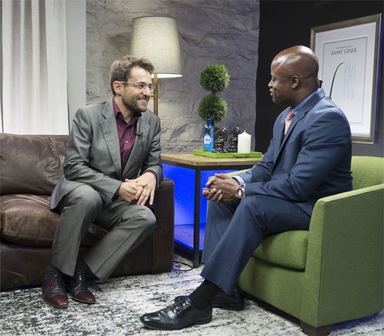 Levon Aronian entrevistado por Maurice Ashley