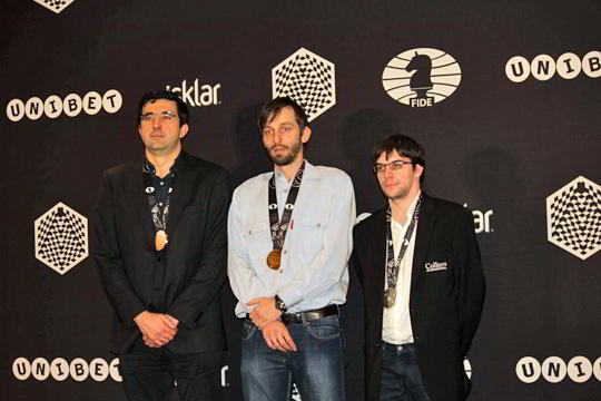 Grischuk campeón mundial de ajedrez blitz por 3ra vez