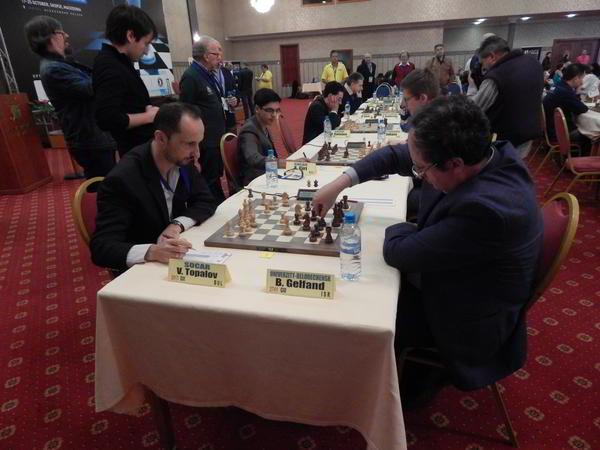 Topalov vs Gelfand