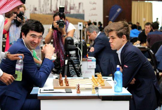 Carlsen vs Kramnik