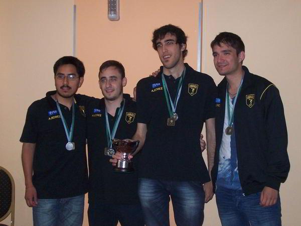Obras AySA, subcampeón 2015