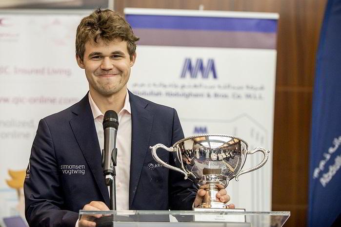 Magnus Carlsen ganador en Qatar