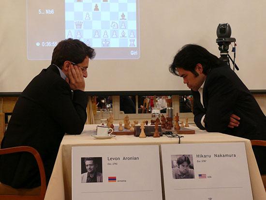 Aronian vs Nakamura