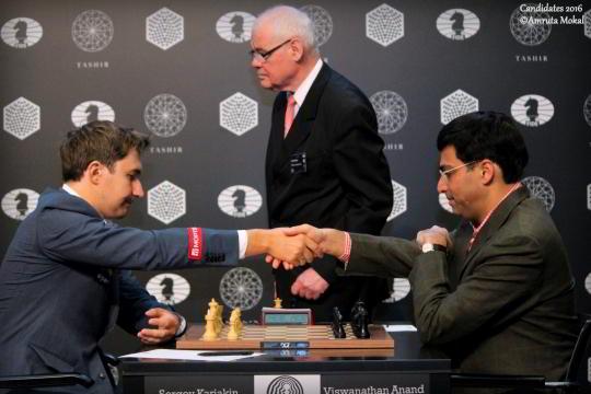 Karjakin vs Anand