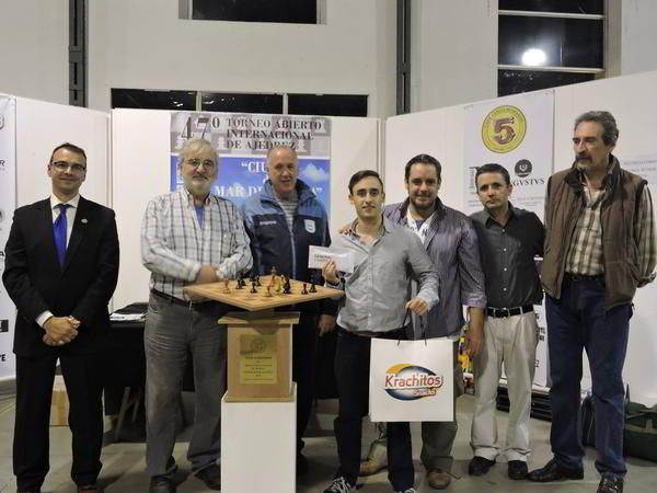 Krysa vencedor en el Abierto de Mar del Plata 2016