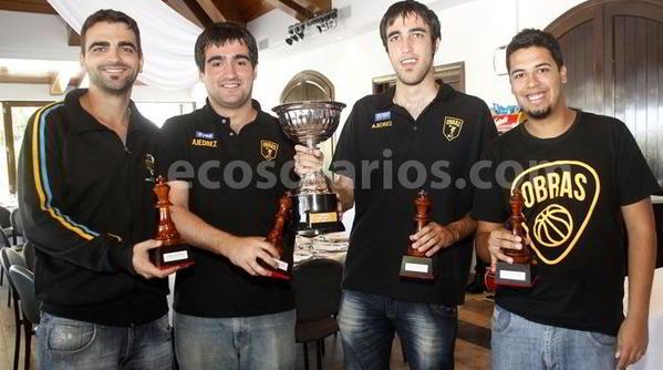 Obras Aysa, campeón 2016 - Foto: Ecos Diarios