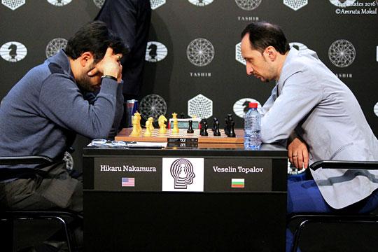 Nakamura doblega a Topalov