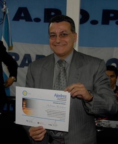 Adrián Roldan, organizador del certamen