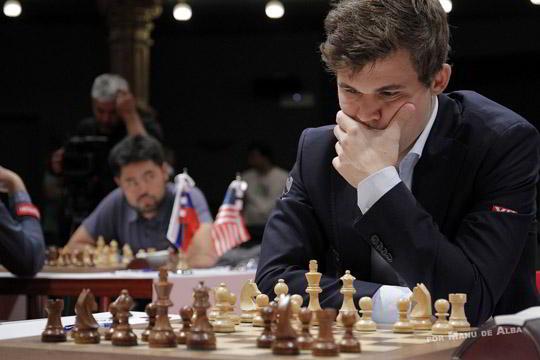 Magnus Carlsen, campeón en Bilbao 2016