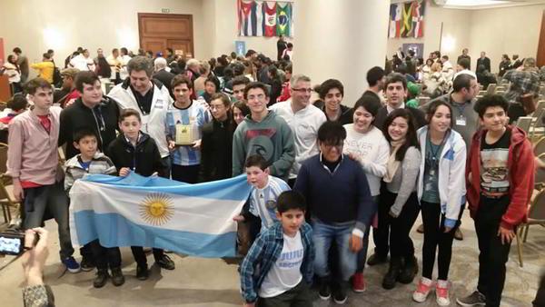 La delegación argentina en el Panamericano de la Juventud 2016