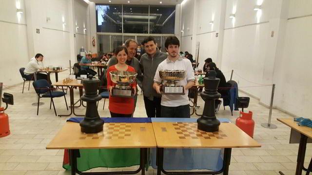 Diego Flores y Ayelén Martinez, campeones argentunos absoluto y femenino 2016