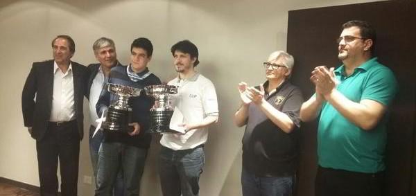 """Diego Flores campeón continental """"rápido"""""""