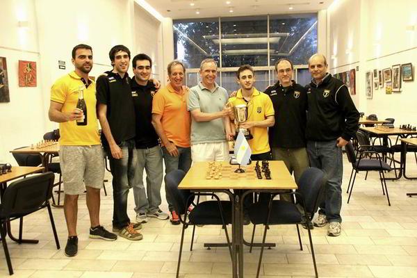 Obras AySA gana la Liga Nacional Superior 2016