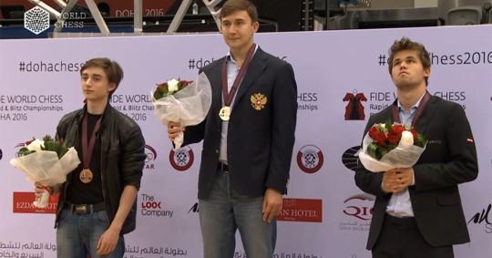 """Anna Muzychuk y Karjakin campeones mundiales de """"blitz"""""""