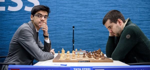 Tata Steel R6: Ganan Giri y Wei Yi