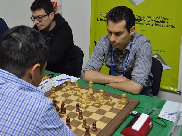 Fernando Peralta en el torneo Continental