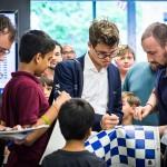 Copa Sinquefield: Carlsen y Anand suman enteros en la ronda 5