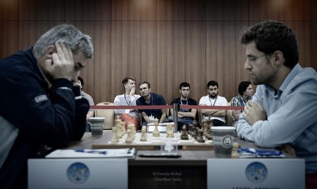 Ivanchuk vs Aronian
