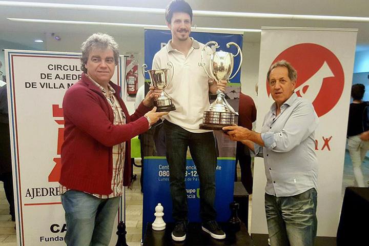 Diego Flores, ganador del PRO-AM 2017