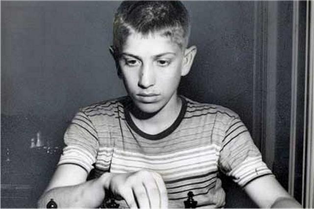 Bobby Fischer, campeón de los EEUU a los 14 años