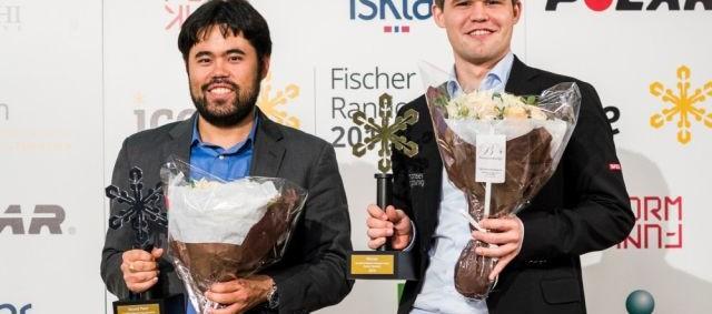 Magnus Carlsen gana 5:3 en ajedrez Fischer relámpago