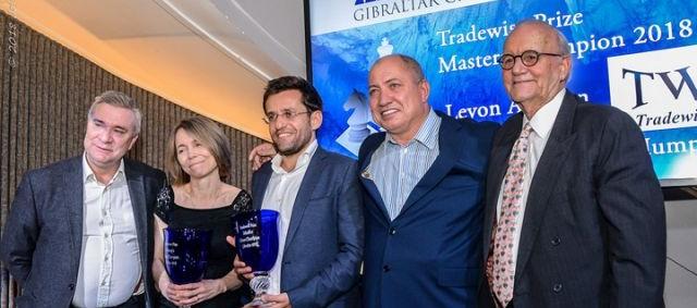 Tradewise Gibraltar: Aronian triunfa en un cuádruple desempate