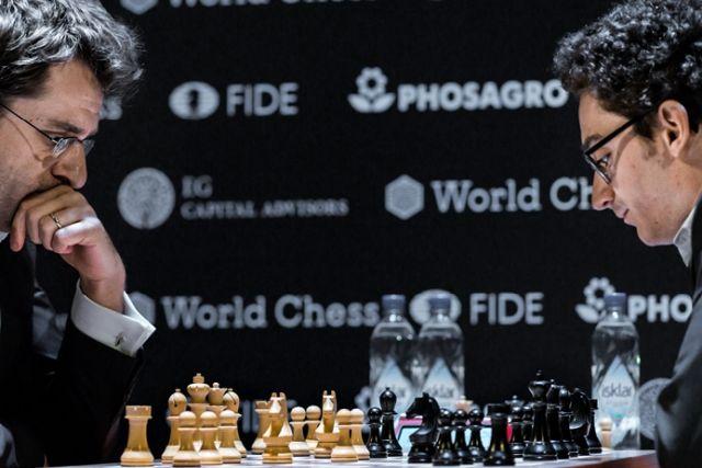 Aronian vs Caruana